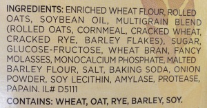 wheat thins ingredients